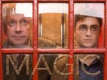 WallpaperArthur Weasley and Harry Potter Magic Ministry magisches Ministerium